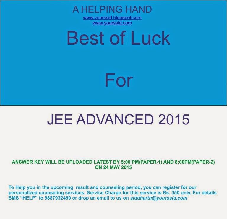 sub wise cutoff jee adv 2015