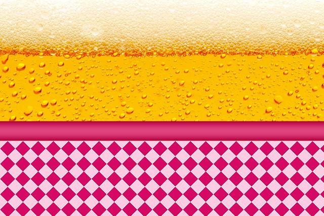 Para hacer Invitaciones, Tarjetas, Marcos o Etiquetas para Imprimir Gratis de Fiesta de la Cerveza para Chicas.