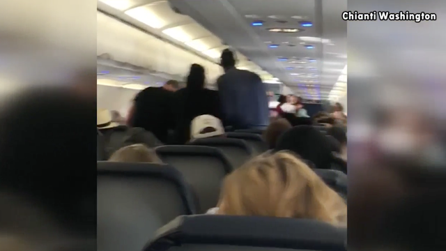 Woman's outburst on Spirit flight from Houston stuns passengers (VIDEO)