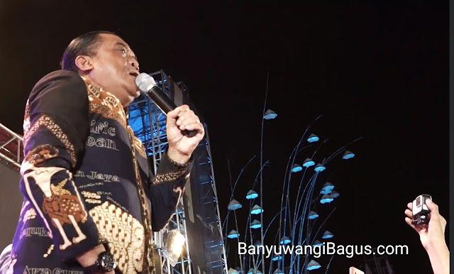 Didi Kempot janji akan menciptakan lagu tentang Banyuwangi.