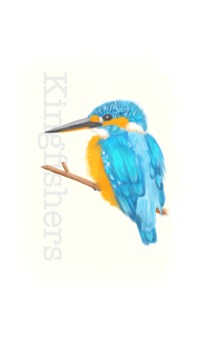 -Kingfishers-