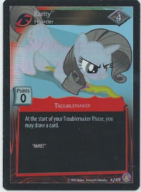 My Little Pony Rarity, Hoarder Absolute Discord CCG Card