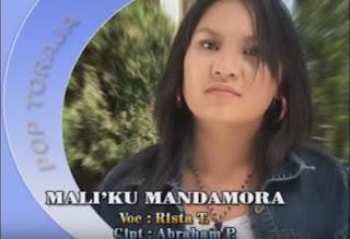 Lirik Lagu Toraja Mali'ku Mandamora (Rista Tangirerung)