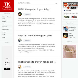 theme blogspot free