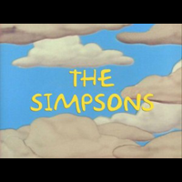 The Simpsons, title frame