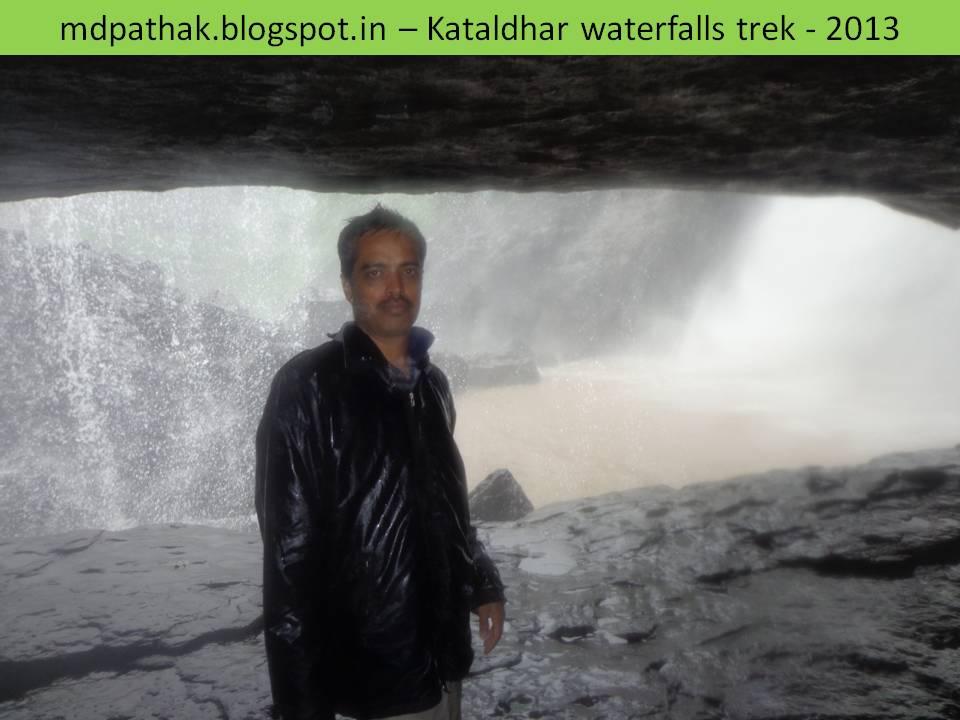 caves inside kataldhar waterfalls
