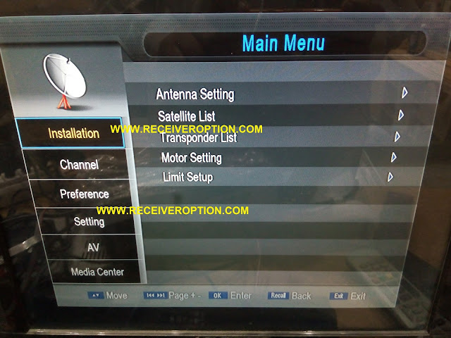 NEOSAT 6000BOOM HD RECEIVER POWERVU KEY OPTION