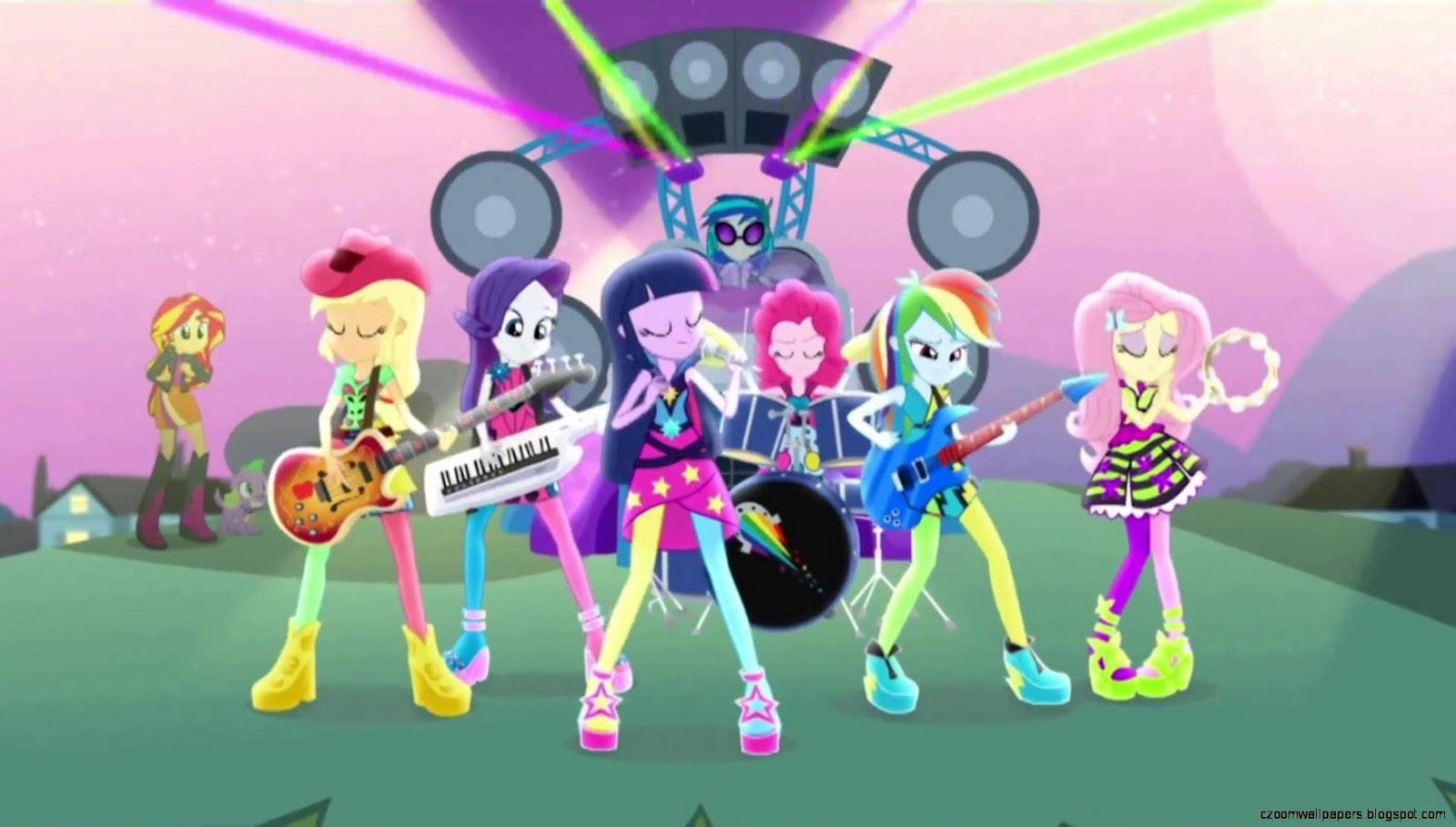My Little Pony Equestria Girls Rainbow Rocks Hd Wallpapers Zoom