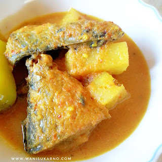 resepi gulai kuning ikan kering kelantan mudah dan sedap