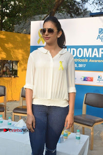 Actress Rakul Preet Singh at Endometriosis Awareness Walk at Apollo Cradle  0054.jpg