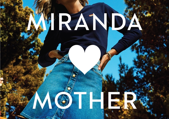 ミランダ・カー(Miranda Kerr) Denim Collection With Mother