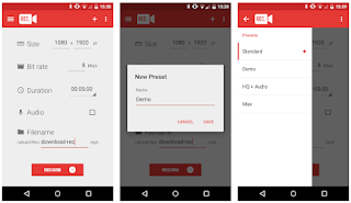 REC Screen Recorder Pro Apk Android