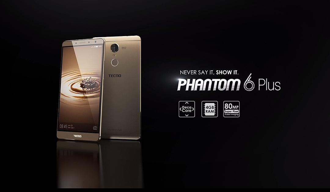 Tecno phantom 6 plus is a top gaming phone for Nigerians