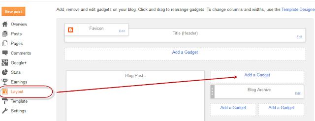 add facebook like box in blogger