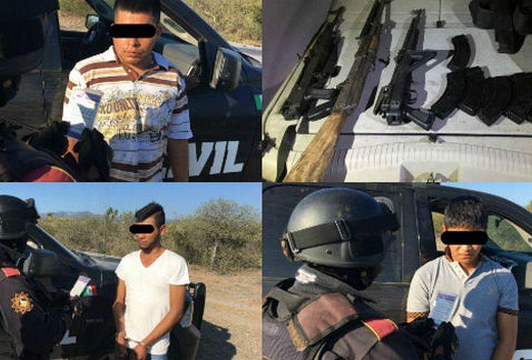 Fuerza Civil Detiene a presunto líder del Cártel del Noreste en Villaldama Nuevo Leon junto con dos estacas #SDRMEX