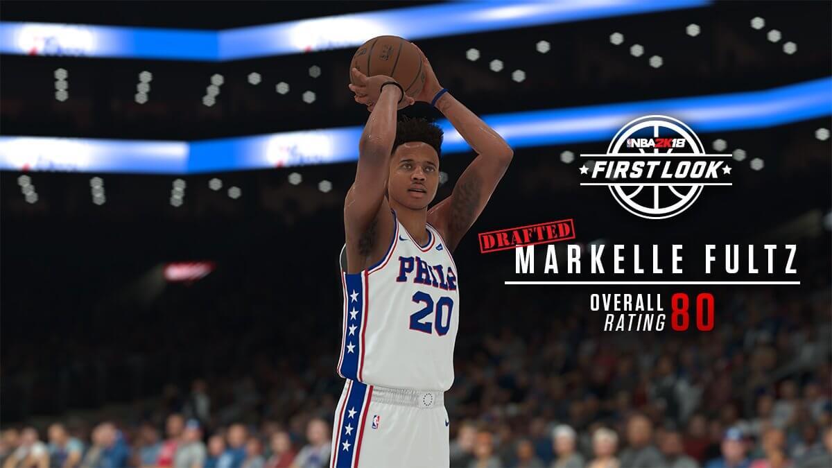 NBA 2k18 Markelle Fultz Screenshot