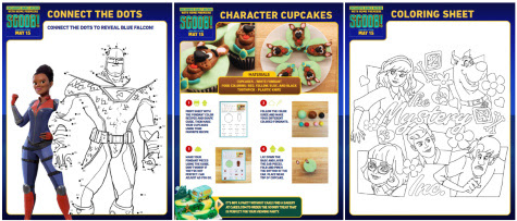 Download Scoob Movie Party Pack and Activity Guide
