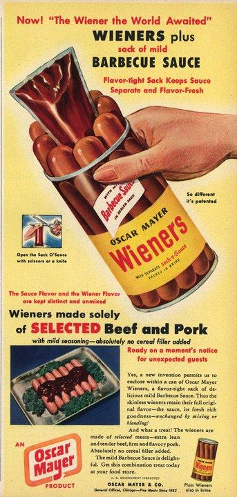 oh niks, alleen maar 's werelds grootste verzameling van hotdogplaatjes