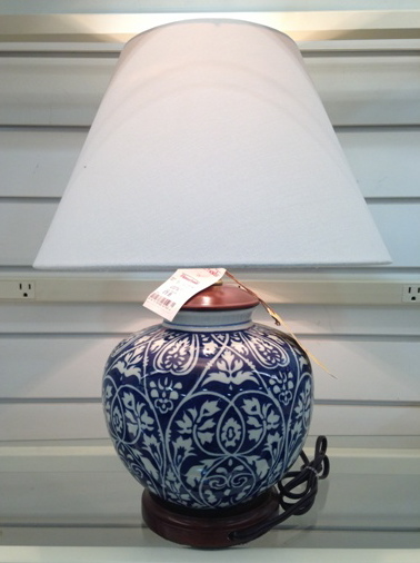 Chinoiserie Chic: Chinoiserie Lamps at HomeGoods