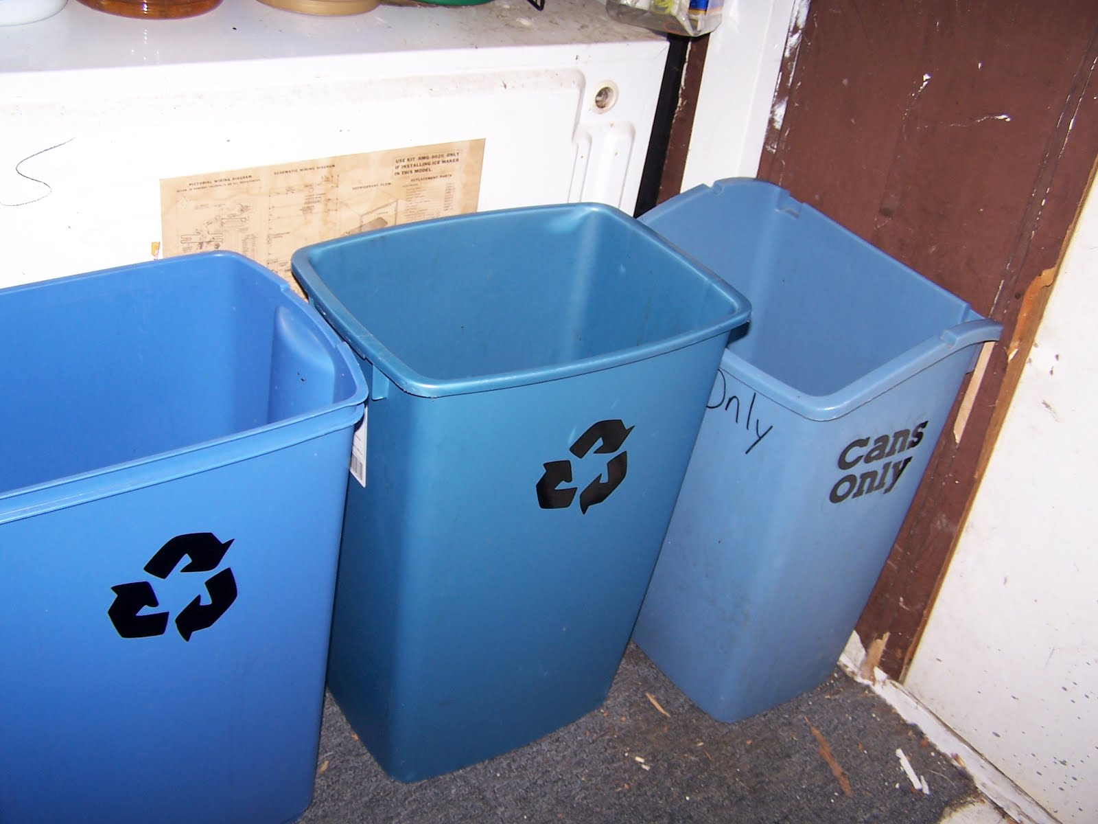 recycle bin ideas garage - The Crafty Mermaid s Grotto Week 6 Challenge Recycling