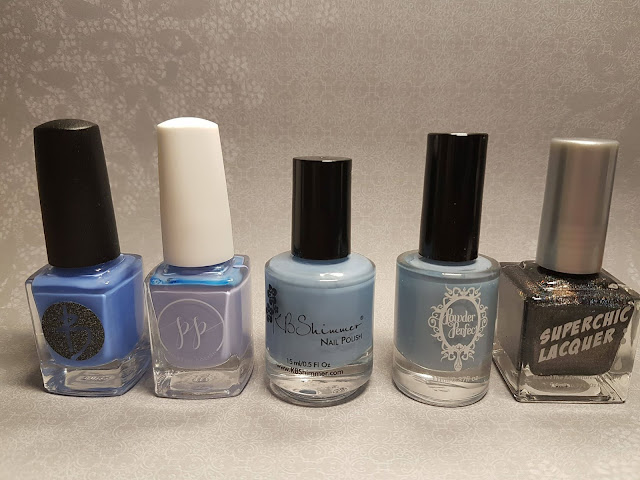 winter, holiday, snow, cold, blue, indie polish, indie makers