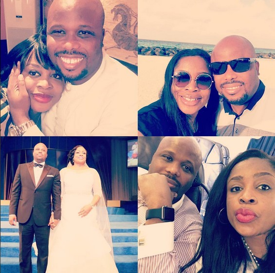 Sinach and husband