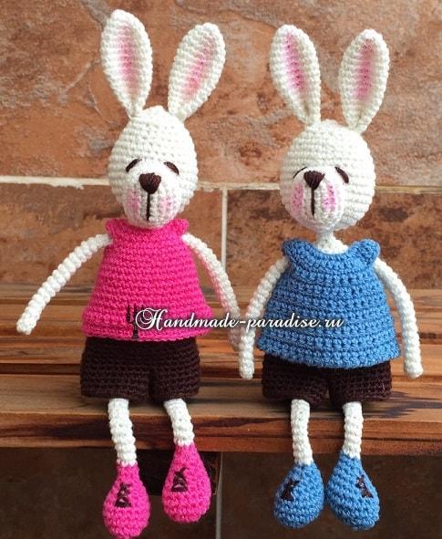 Amigurumi Bunny Friends-Free Pattern