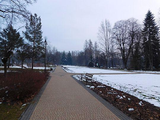 Park Zdrojowy w Rabce-Zdroju.