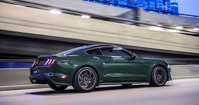 Rear/side view of 2019 Ford Mustang Bullitt