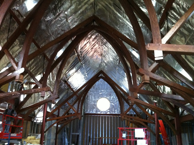 Timber Frame Design Arched Church Beams