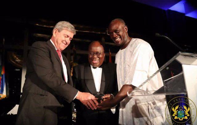 Akufo-Addo Receives AAI's 'National Achievement Award'