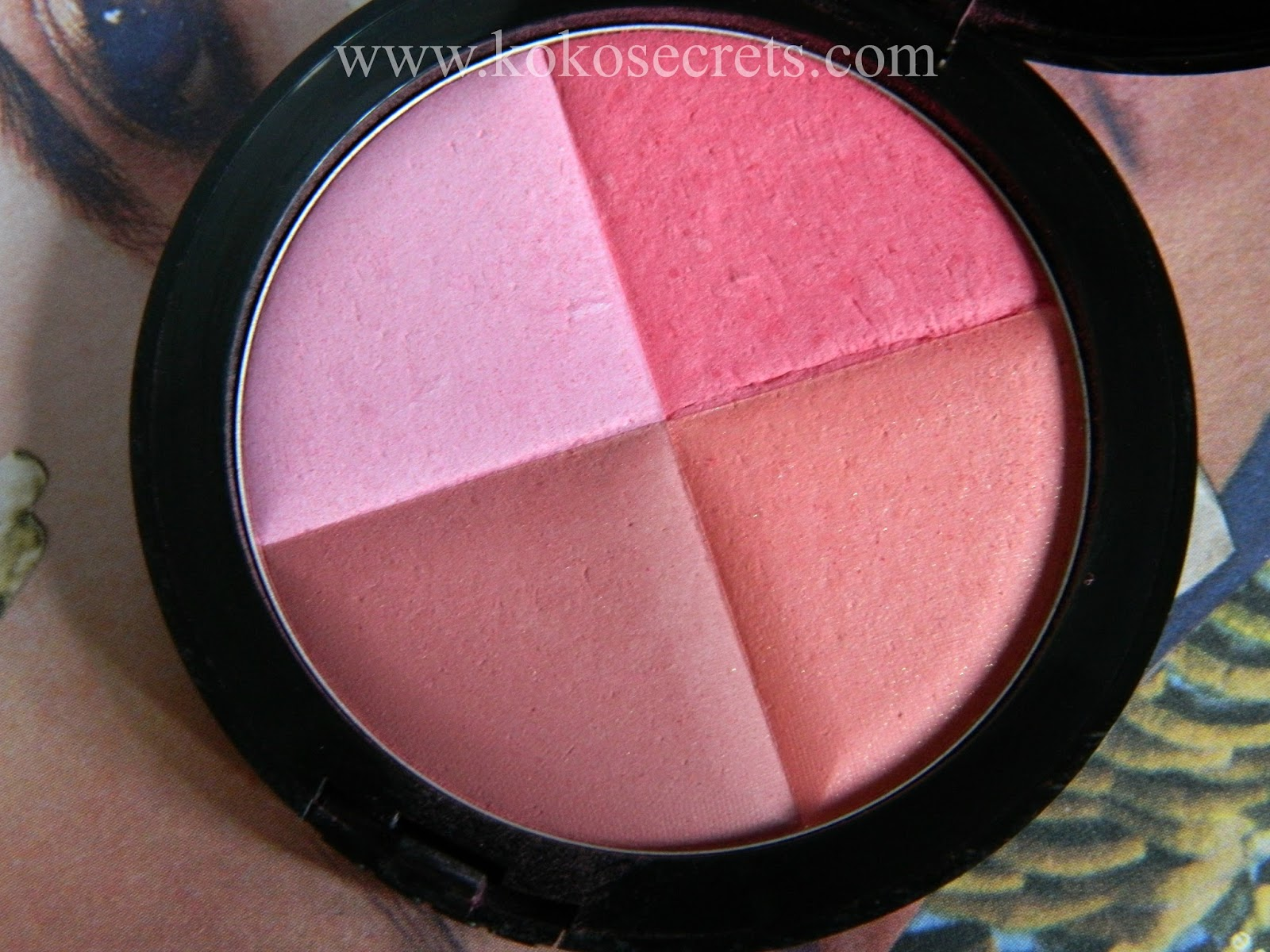 A Hidden Gem Multicolour Blush By Gosh In Pink Pie