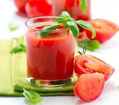 Como hacer jugo de tomate y limon