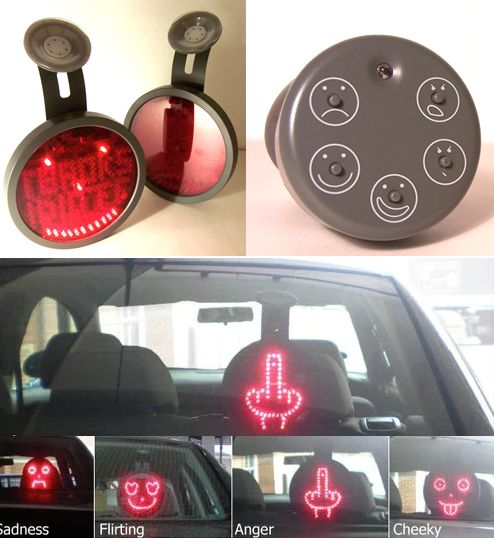 Drivemocion LED car sign
