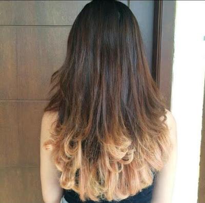 warna rambut untuk kuning langsat