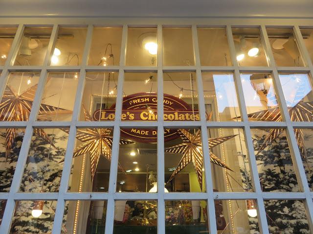 Lore's Chocolate display window in Center City Philadelphia