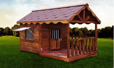 Casas prefabricadas consorcio j r casas para mascotas Casas para perros de madera