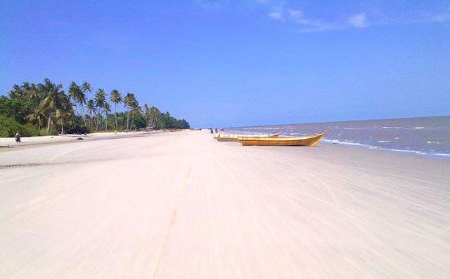 Gambar Pantai Rupat Utara Tanjung Medang Di Riau