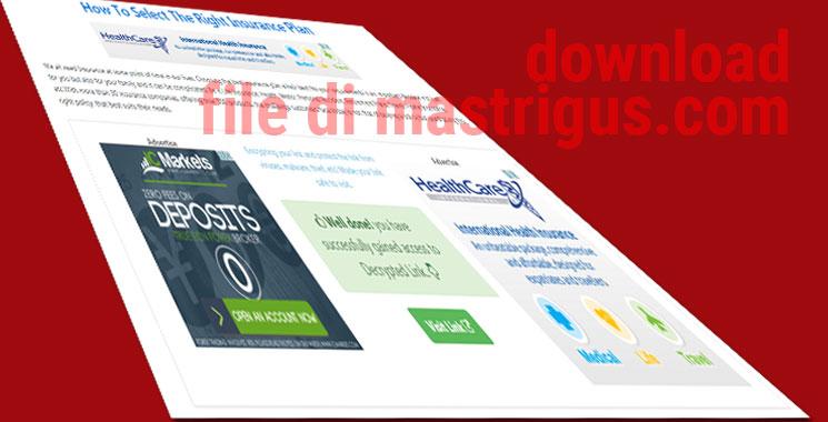 Cara Dowload di Blog Mastrigus.com