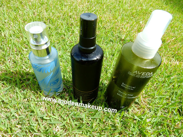 Spray Toners Comparison - www.modenmakeup.com