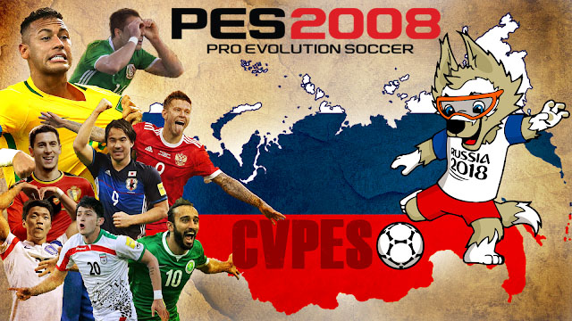 Pes 2008 world cup russia 2018 new season patch 2019 micano4u.
