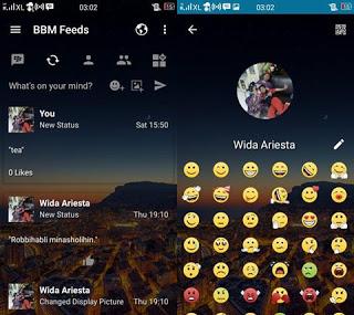 BBM MOD Transparan Change Background