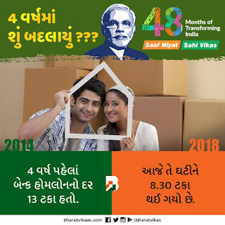 मोदी के साथ 4 साल VS कांग्रेस  के  पिछले 4 साल   - Reporter17
