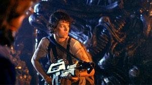 Sigourney Weaver en Aliens: El regreso