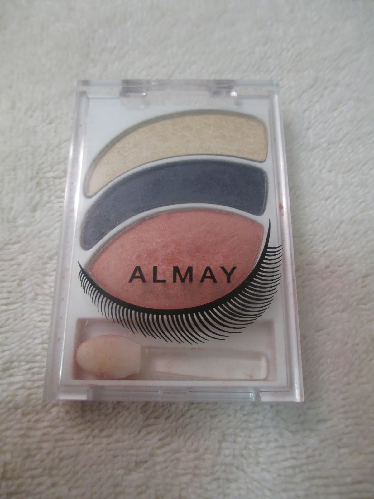 almay bold nudes for hazel eyes intense i-color kit review+