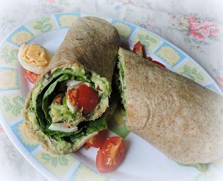 Cob Salad Sandwich Wrap