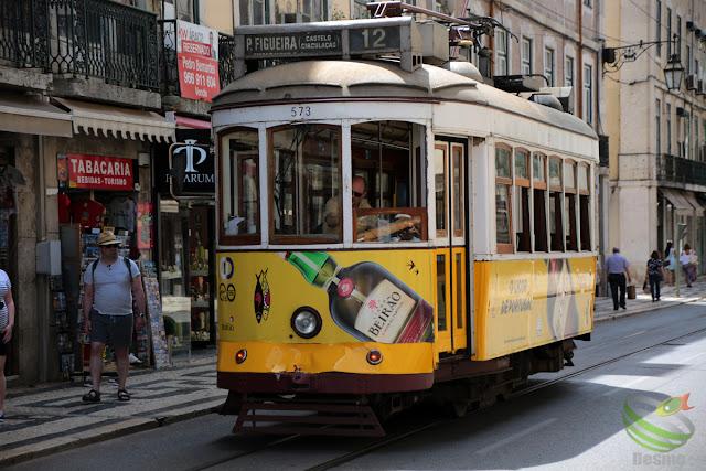リスボン - トラム(路面電車)