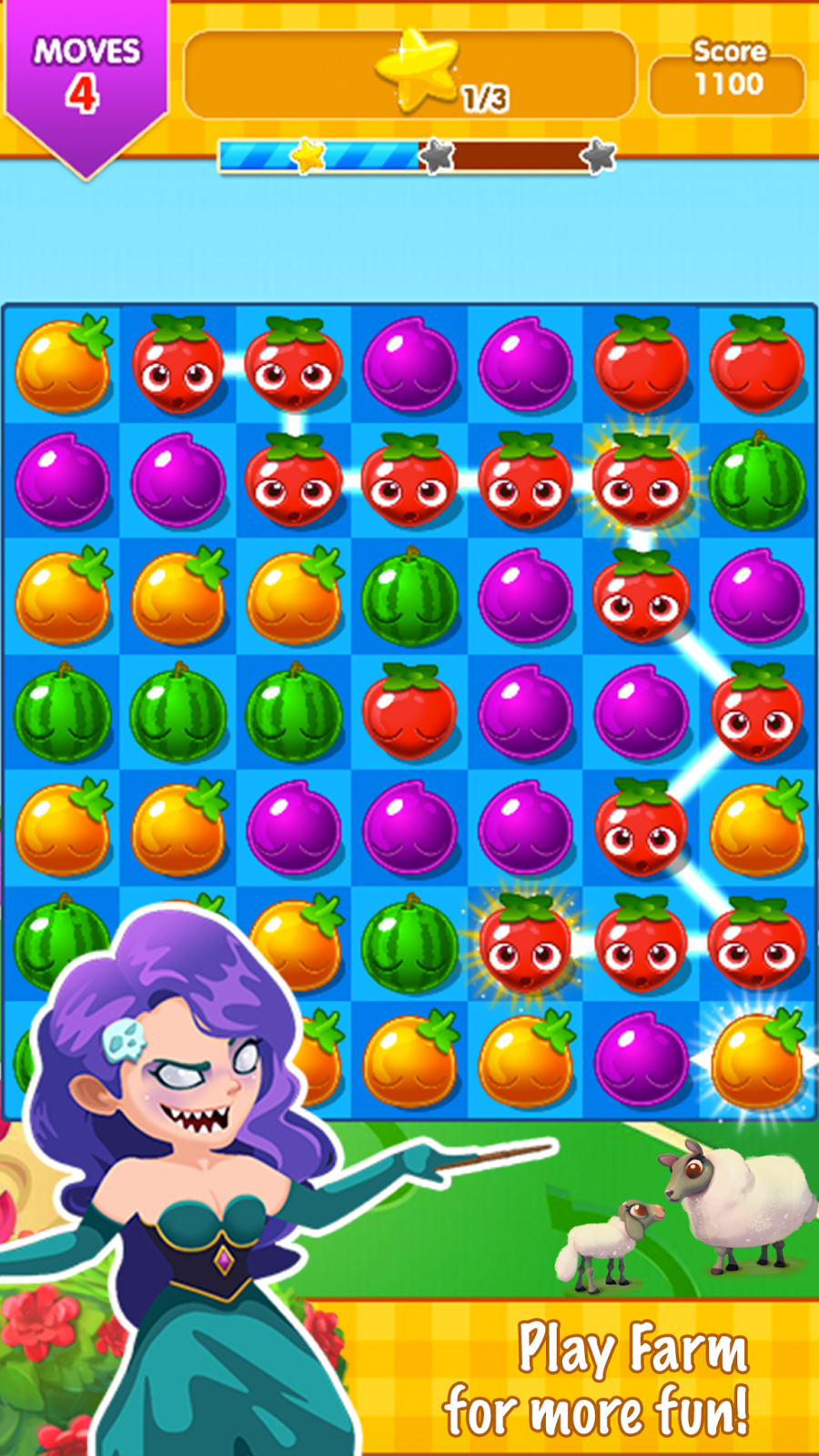 Bubble fruits game - New Game Play Elements Is Embedded In This Classic Fresh Fruit Farmer With Rainbow Fruits Bubble Fruits That Can Break And Eliminate A Big Bag Of Fruit