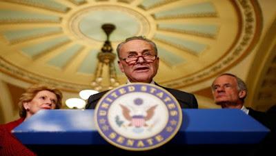 El senador de Nueva York, Charles Schumer, es el líder de la minoría demócrata en el Senado. Foto: Reuters
