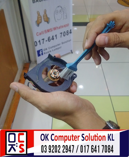[SOLVED] SERVIS LAPTOP HP COMPAQ CQ42 | REPAIR LAPTOP CHERAS 9